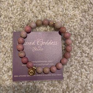 Cancer reiki attuned bracelet